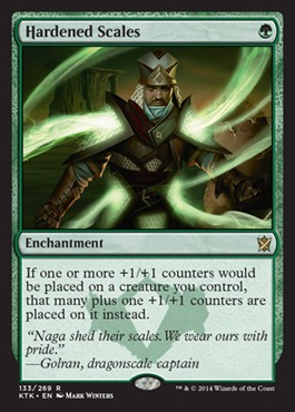 Hardened Scales - Foil