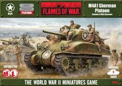 Sherman M4A1 Platoon