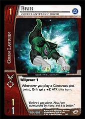 Brik, Green Lantern of Dryad - Foil
