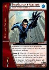 Dick Grayson - Nightwing, High-Flying Acrobat - Foil