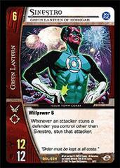 Sinestro, Green Lantern of Korugar - Foil