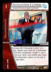 Alexander Luthor, Duplicitous Doppelganger - Foil