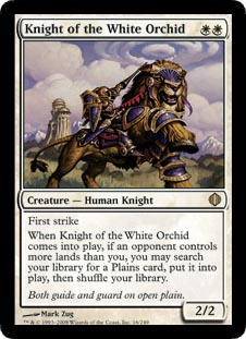 Knight of the White Orchid