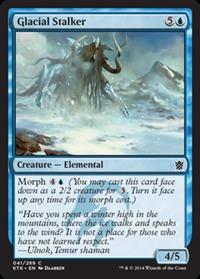 Glacial Stalker - Foil