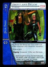 Above and Below, Team-Up - Foil
