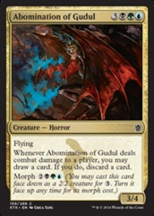 Abomination of Gudul - Foil on Channel Fireball