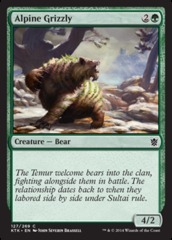 Alpine Grizzly on Channel Fireball