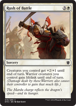 Rush of Battle - Foil