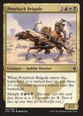 Ponyback Brigade - Foil