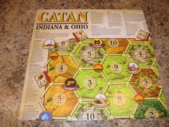 Catan Geographies: Indiana and Ohio (Special Order Item)