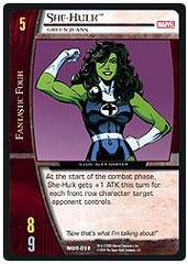 She-Hulk, Green Jeans - Unlimited Edition - Foil