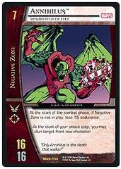 Annihilus, Destroyer of Life - Unlimited Edition - Foil