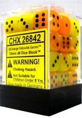 36 Gemini Orange Yellow/Black D6 - CHX26842