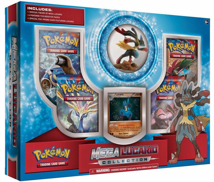 Mega Lucario Collection Box