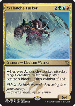 Avalanche Tusker - Intro Pack Promo