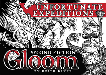 Gloom: Unfortunate Expeditions (2nd Edition)