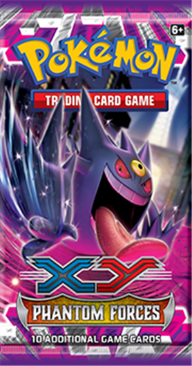Pokemon XY4 Phantom Forces Booster Pack