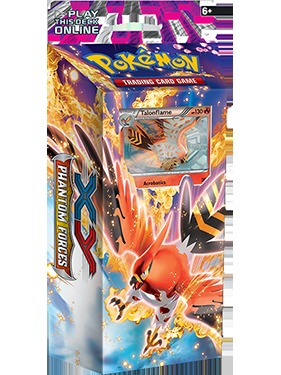 XY Phantom Force - Burning Winds Theme Deck