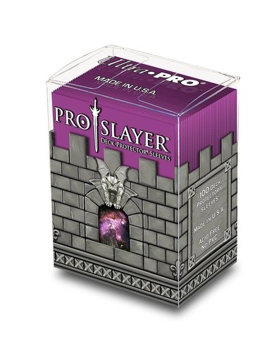 100ct PRO-Slayer Hot Pink Standard Deck Protectors