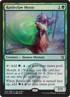 Rattleclaw Mystic (Khans of Tarkir Buy-a-Box Promo)
