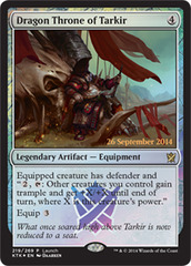 Dragon Throne of Tarkir - Foil - Launch Promo