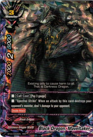 Black Dragon, Maveltaker - BT04/0006EN - RRR