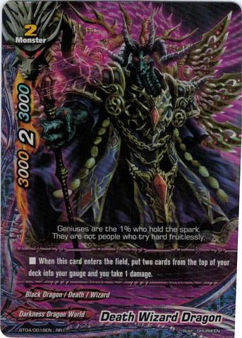 Death Wizard Dragon - BT04/0018EN - RR