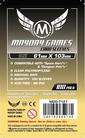100 ct Magnum Space Alert & Dungeon Petz Sized Card Sleeves