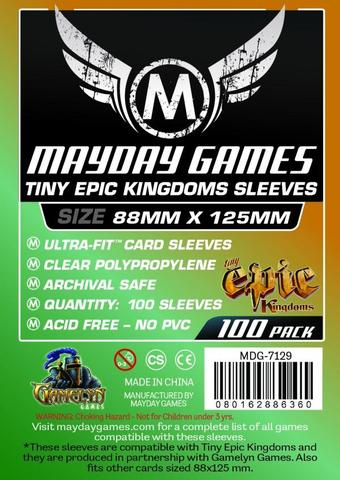 100 ct Tiny Epic Kingdoms Card Sleeves 88 X 125 MM