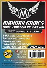 100 ct Race! Formula 90 Card Sleeves (55 X 80 MM)