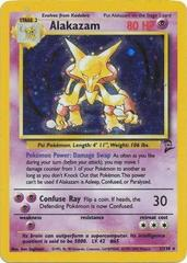 Alakazam - 1/130 - Holo Rare - Unlimited Edition