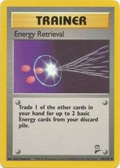 Energy Retrieval - 110/130 - Uncommon - Unlimited Edition