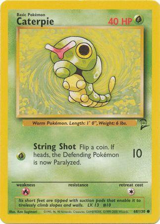 Caterpie - 68/130 - Common - Unlimited Edition