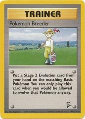 Pokemon Breeder - 105/130 - Rare - Unlimited Edition