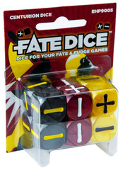 Fate Dice: Spirit of the Century Centurion Dice