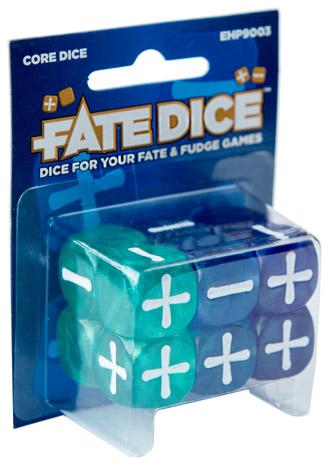 Fate Dice: Core Dice