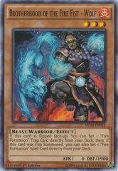 Brotherhood of the Fire Fist - Wolf - MP14-EN012 - Common - Unlimited