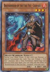 Brotherhood of the Fire Fist - Leopard - MP14-EN013 - Common - Unlimited
