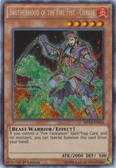 Brotherhood of the Fire Fist - Coyote - MP14-EN054 - Secret Rare - Unlimited
