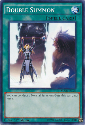 Double Summon - SDGR-EN026 - Common - 1st Edition