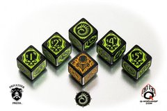 Warmachine Cryx Faction Dice Set