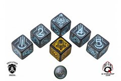 Warmachine Convergence of Cyriss Faction Dice Set