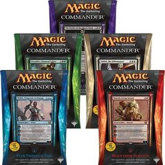 MTG Commander 2014 Decks: Set of 5