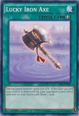 Lucky Iron Axe - YS14-EN027 - Common - Unlimited Edition