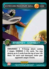 Namekian Maximum Will C33 - Foil