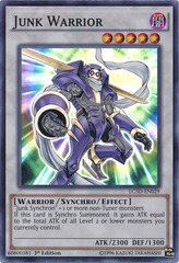 Junk Warrior - LC5D-EN029 - Super Rare - 1st Edition