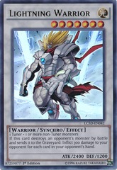 Lightning Warrior - LC5D-EN042 - Ultra Rare - 1st Edition