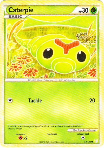 Caterpie - 57/123 - Common