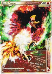 Ho-Oh LEGEND - 111+112/123 - Rare Holo Legend