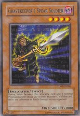 Gravekeeper's Spear Soldier - TU02-EN006 - Rare - Unlimited Edition